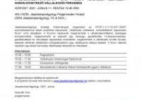 MEGHÍVÓ Vállalkozói Fórumra (2021.06.11. péntek 15.45.)